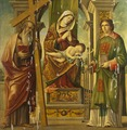 Madonna and Child with St Andrew and St Lawrence (Niccolò Rondinelli) - Nationalmuseum - 19851.tif