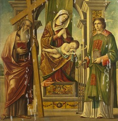Madonna and Child with St Andrew and St Lawrence