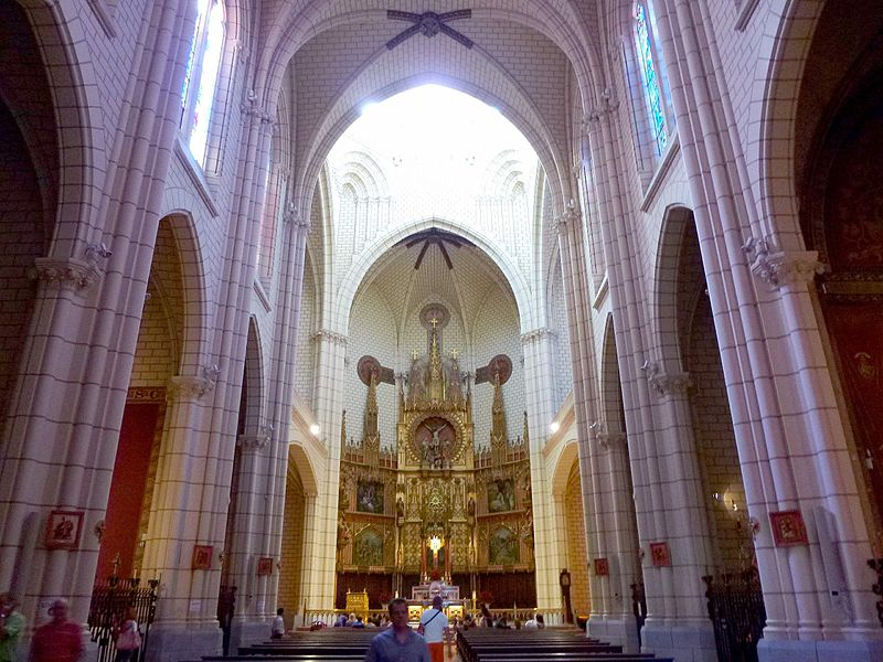 Madrid - Iglesia de Santa Cruz 27.JPG