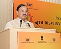 "Mahesh Sharma addressing at the Plenary Session II ""Core Infrastructure for Tourism"", during the 'Incredible India-Tourism Investors' Summit 2016', in New Delhi.jpg"