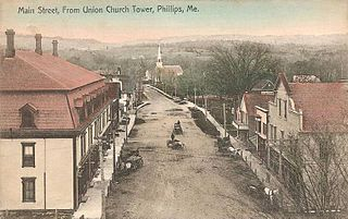 Phillips, Maine Town in Maine, United States