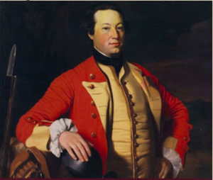 George Scott (British Army officer) - Captain George Scott by John Singleton Copley (c.1758), The Brook