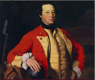Petitcodiac River Campaign - Image: Major George Scott