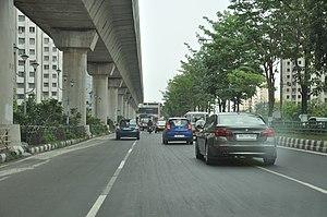 New Town, Kolkata - Biswa Bangla Road