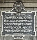 Makati church marker.jpg