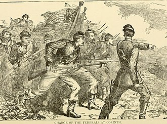 Siege of Corinth - Charge of the Federals