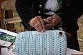 Making of bobbin laces Myjava festival.jpg