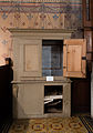 Malchow Orgelmuseum Klosterkirche Gehäuse eines Orgelpositivs aus Altentreptow.jpg