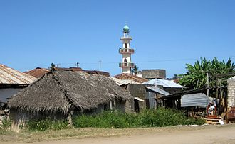 Malindi - A view of the old town of Malindi