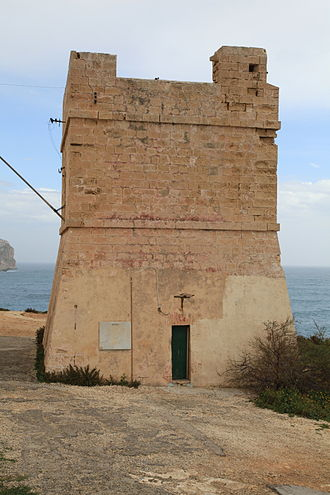 De Redin towers - The De Redin towers are based on Sciuta Tower, which was built in 1638.