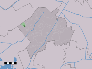 Wilhelminaoord - Image: Map NL Westerveld Wilhelminaoord