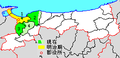 Map Saihaku District, Tottori en.png