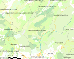 Map commune FR insee code 34261.png