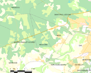 Map commune FR insee code 40003.png