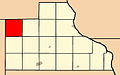 Map highlighting Butler Township, Jackson County, Iowa.jpg