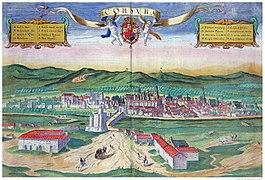Map of Córdoba from 'Civitates Orbis Terrarum' - Joris Hoefnagel.jpg