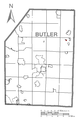 Map of Fairview, Butler County, Pennsylvania Highlighted.png