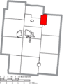 Map of Jackson County Ohio Highlighting Wellston City.png