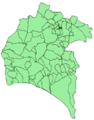 Map of Los Marines (Huelva).png