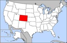 Colorado Wiktionary - Colorado map us
