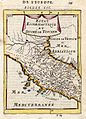 Map of the papal state and Tuscany, 1683.jpg