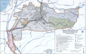California Gulch - Map of California Gulch Superfund site, Operable Units and Deletion Status, March 31, 2016 EPA