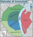 Mappa del distretto di Innenstadt.png