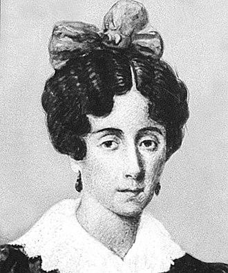 Mariquita Sánchez - Image: María Sánchez de Thompson