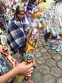 Maraca 01 del Baile de los Toritos de Chichicastenango.JPG