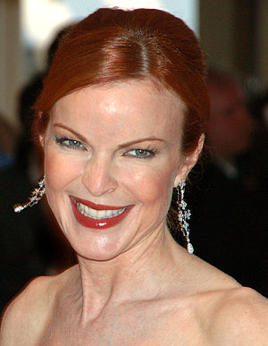"Law & Order: Special Victims Unit (season 16) - Marcia Cross portrays a woman accused of sexually abusing her husband, in ""December Solstice""."