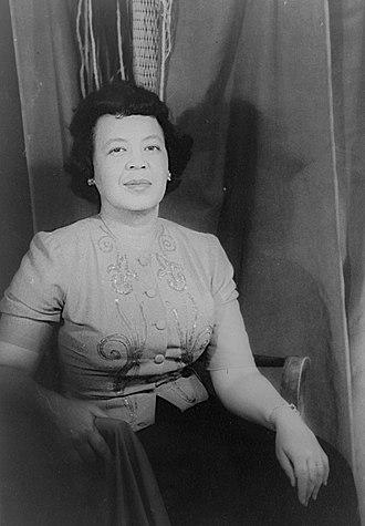 Margaret Bonds - Margaret Bonds in 1956