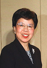 Margaret Chan, incumbent Director-General of the World Health Organization