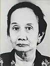 Maria Ulfah Santoso, minister van Sociale Zaken van Indonesië.jpg