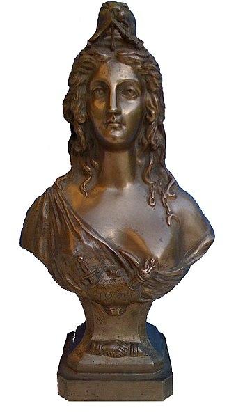 Marianne de la loge maçonnique d'Ambérieu