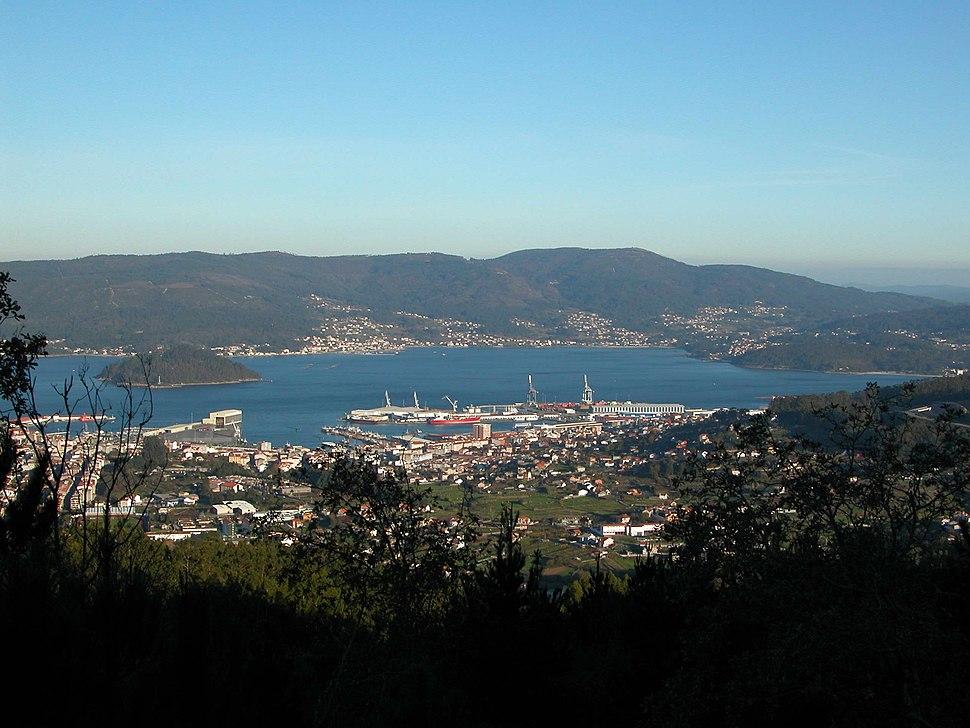 Marin Vista Xeral desde monte