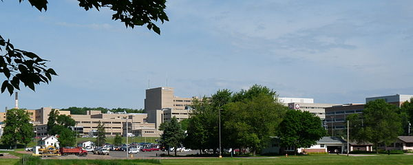 Panorama of medical complex