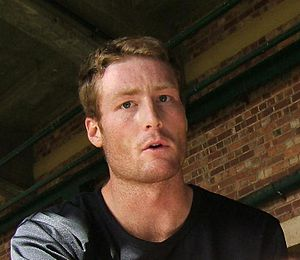 Martin Guptill at a training session at the Ad...