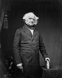 Martin Van Buren 8th president of the United States