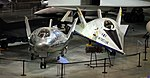 Martin X-24A and X-24B, National Museum of the US Air Force, Dayton, Ohio, USA. (32630407098).jpg