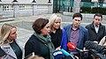 Mary Lou McDonald TD, Michelle O'Neill MLA & Matt Carthy MEP (31784162147).jpg