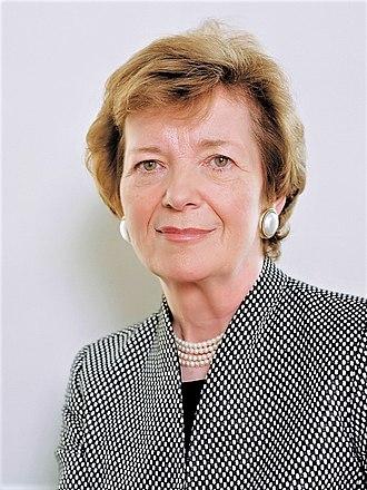Mary Robinson - Image: Mary Robinson (2014)