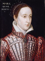 Mary, Queen of Scots. School of François Clouet