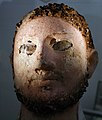 Mask of a mummy, Papyrusmuseum Wien 02.jpg
