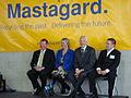 Mastagard Opening Hon. Dr Nick Smith, Nicky Wagner, Mayor Bob Parker & Sebastian Stapleton Oct09 (4009951891).jpg