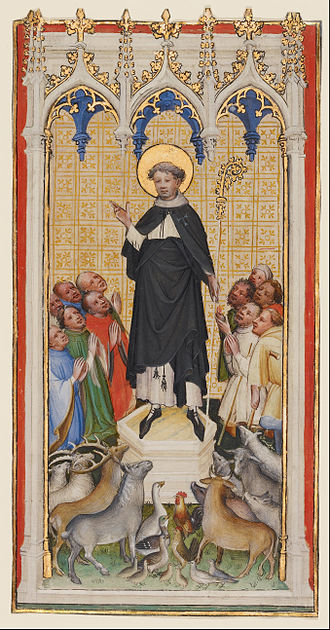 Blessing of animals - Saint Anthony Abbot Blessing the Animals, the Poor, and the Sick