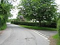 Mathon - junction at entry to Mathon Court - geograph.org.uk - 845419.jpg