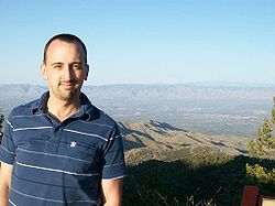 Matt on Mt. Lemmon.JPG