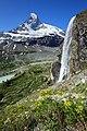 Matterhorn and waterfall.jpg