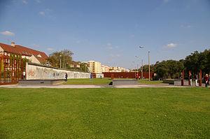 Gedenkstätte Berliner Mauer - West side of the memorial