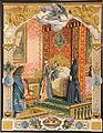 Maurice Leloir-Le Roy soleil-Louis XV béni par Louis XIV mourant.jpg